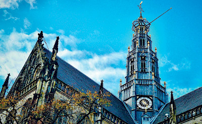 Majestic churches to be found in the Netherlands.