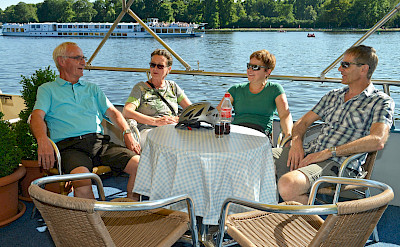 New friendships on board Mecklenburg | Bike & Boat Tours