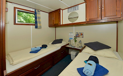 Twin cabin | Mecklenburg | Bike & Boat Tours