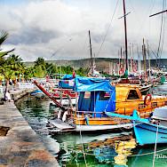 Boats in Bodrum, Turkey. Flickr:Yilmaz Oevuenc