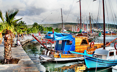 Boats in Bodrum, Turkey. Flickr:Yilmaz Oevuenc