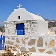 Many Greek churches on Amorgos Island, Greece. Flickr:Paul Arps
