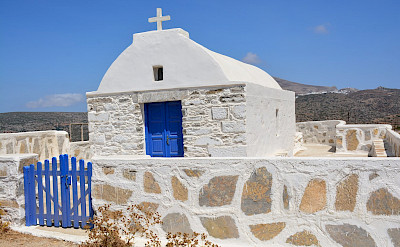 Many Greek churches on Amorgos Island, Greece. Flickr:Paul Arps