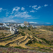 Village on Amorgos Island, Greece. Photo via TO