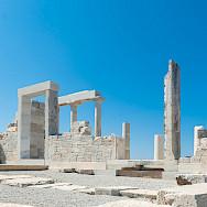 Ruins on Naxos Island, Greece. Photo via TO