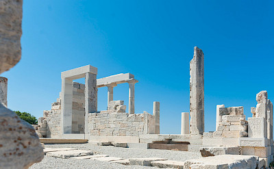 Ruins on Naxos Island, Greece. ©TO