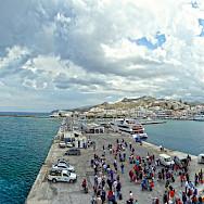 Naxos Island in the Greek Aegean. Flickr:Rajeev Rajagopalan