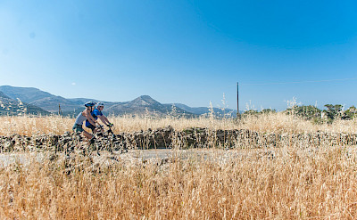 Cycling Naxos Island, Greece. Photo via TO