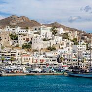 Harbor on Naxos Island, Greece. Flickr:Guillen Perez