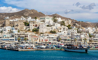 Harbor on Naxos Island, Greece. Flickr:Guillen Perez