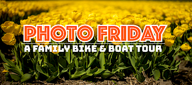 Photo Friday: Family Bike & Boat Tour
