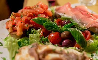 Great bruschetta in Italy! Flickr:Marco Verch