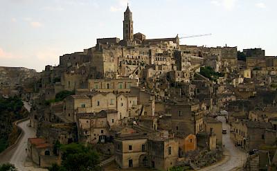 Matera in Puglia, Italy. Flickr:Linom