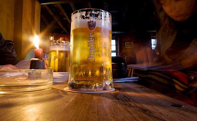 Great local Trappist beers in Bruges, West Flanders, Belgium. Flickr:Ramon
