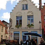 Chocolate shop in Bruges, West Flanders, Belgium. Flickr:raider of gin
