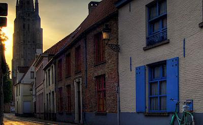 Quiet morning in Bruges, West Flanders, Belgium. Creative Commons:Wolfgang Staudt