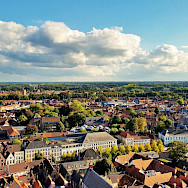 Overlooking Bruges, Belgium. Flickr:grass roots groundswell