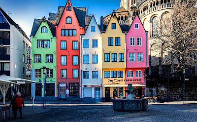 Altstadt in Cologne, Germany. Flickr:Michael Dernbach