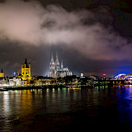 Rhine River in Cologne, Germany. Flickr:Jannik Nitz