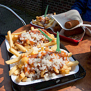 Dutch fries and kroketen. Flickr:vitamin dave