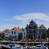 Harbor in Veere, Zeeland, the Netherlands. Flickr:bert knottenbeld