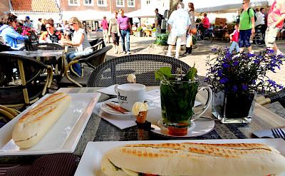 Lunch in Veere, Zeeland, the Netherlands. Flickr:David van der Mark