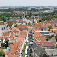 View from Belfry in Zierikzee, the Netherlands. Flickr:Jose Maria Barrera Cabanas