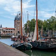 Zuidehavenpoort in Old Harbor Zierikzee, Zeeland, the Netherlands. Flickr:Frans Berkelaar