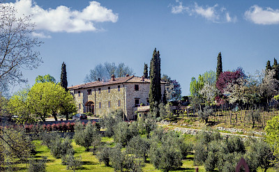 Chateaux in Chianti country of Italy. Flickr:Ray in Manila