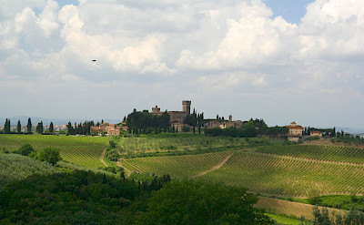 Vast wine estates in Chianti, Italy. Flickr:Ryan