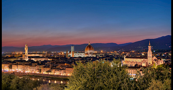 View from Piazzale Michelangelo in Florence, Italy. Flickr:Joe desousa