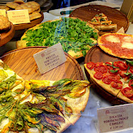 Focaccia in Florence, province Tuscany, Italy. Flickr:Joy