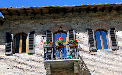 Bike rest in San Gimignano, Italy. Flickr:Rodrigosoldon