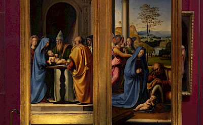 Masterpieces inside Uffizi Gallery in Florence, Italy. Flickr:experienceology