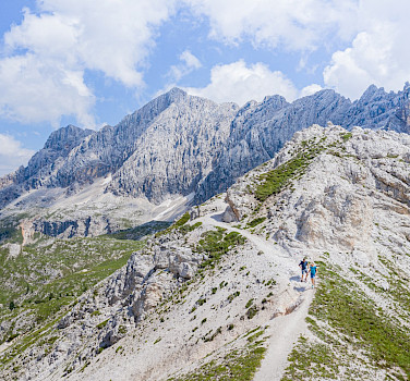 Hiking the Dolomites to Venice Guided Hike Tour in Italy. Photo via FunActive