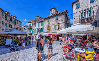 Strolling through Split, the 2nd largest city in Croatia. Flickr:Arnie Papp