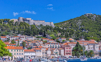 Castle on Hvar Island, Croatia. Flickr:Arnie Papp