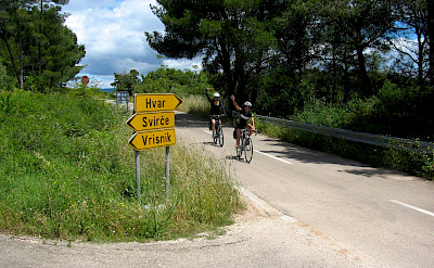 Biking and hiking on Hvar Island in Croatia. Photo via TO