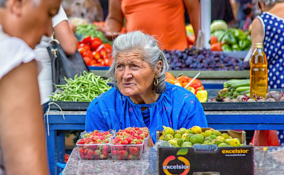 Market in Croatia. Flickr:Arnie Papp