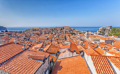 Characteristic red roofs of Dubrovnik, Croatia. Flickr:Arnie Papp