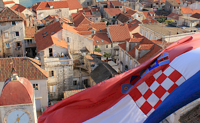 Great view of Trogir along the Dalmatian Coast in Croatia. Flickr:Jeremy Couture