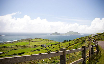 Overlooking beautiful Caherdaniel in County Kerry, Ireland. Flickr:kellinahandbasket