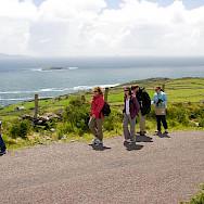 Hiking in Caherdaniel in County Kerry, Ireland. Flickr:kellinahandbasket