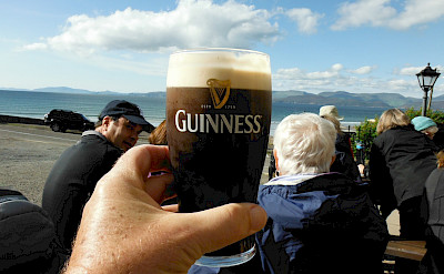 Guinness on the Ring of Kerry Hiking Tour in Ireland.