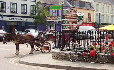 Bike rest in Kenmare, Co. Kerry, Ireland. Creative Commons:Richard Webb