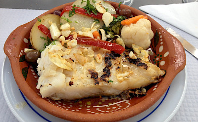 Classic Azorean Cod dish in Portugal. Flickr:Carlos Pacheco