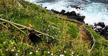 Hiking the Azores Archipelago in Portugal. Photo via TO