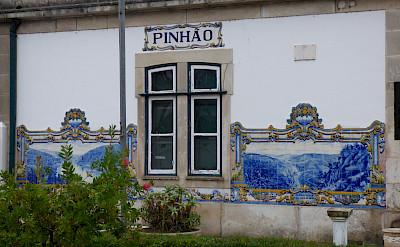 Train station in Pinhao, Portugal. Flickr:Michael Clarke stuff