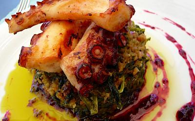 Octopus for lunch perhaps in Porto, Portugal. Flickr:Jessica Spengler