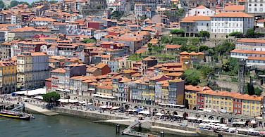 Douro River in Porto, Portugal. Flickr:Julien Chatelain